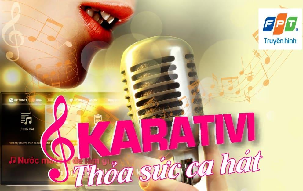 ứng dụng karativi trên truyền hình fpt