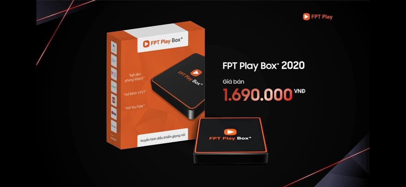 giá bán fpt play box 2020