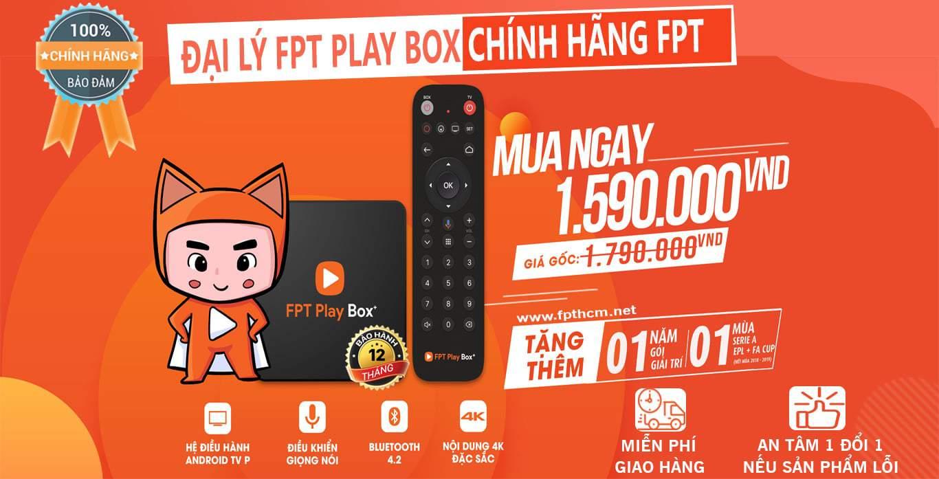 Giá đầu thu FPT Play Box