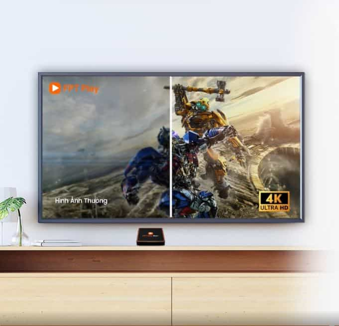 fpt play box 2020 hỗ trợ video 4k