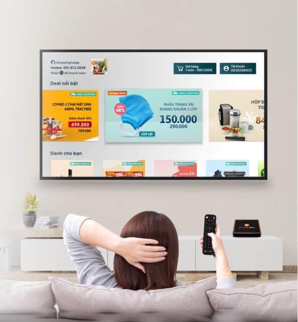 tính năng shopping tv