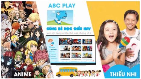 ứng dụng học tiếng anh abc play
