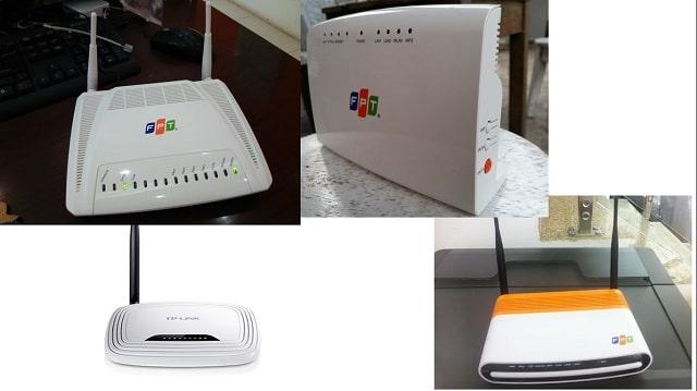Các loại modem wifi FPT