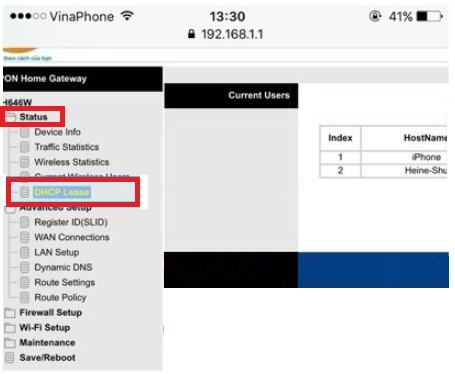 chặn kết nối wifi viettel2