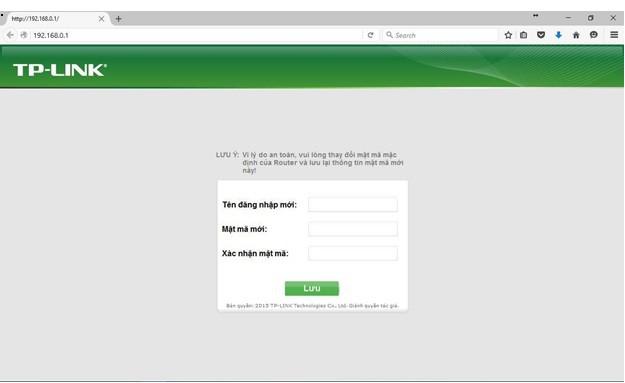 đăng nhập giao diện modem wifi tp link archer c2