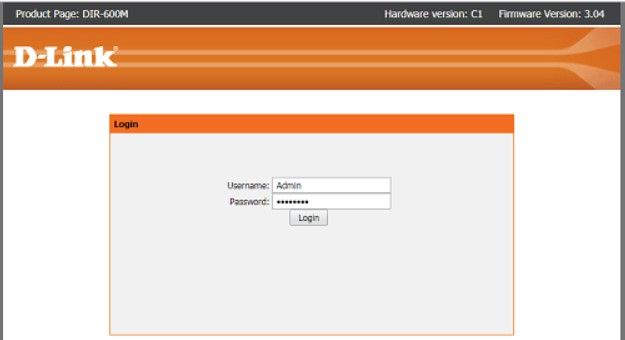Giao diện đăng nhập cài đặt nhiều bộ phát wifi trên một mạng