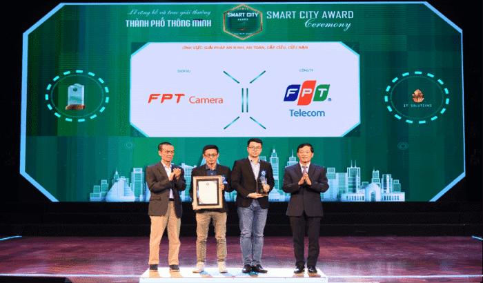 camera fpt nhận giải thường thành phố thông minh việt nam 2020