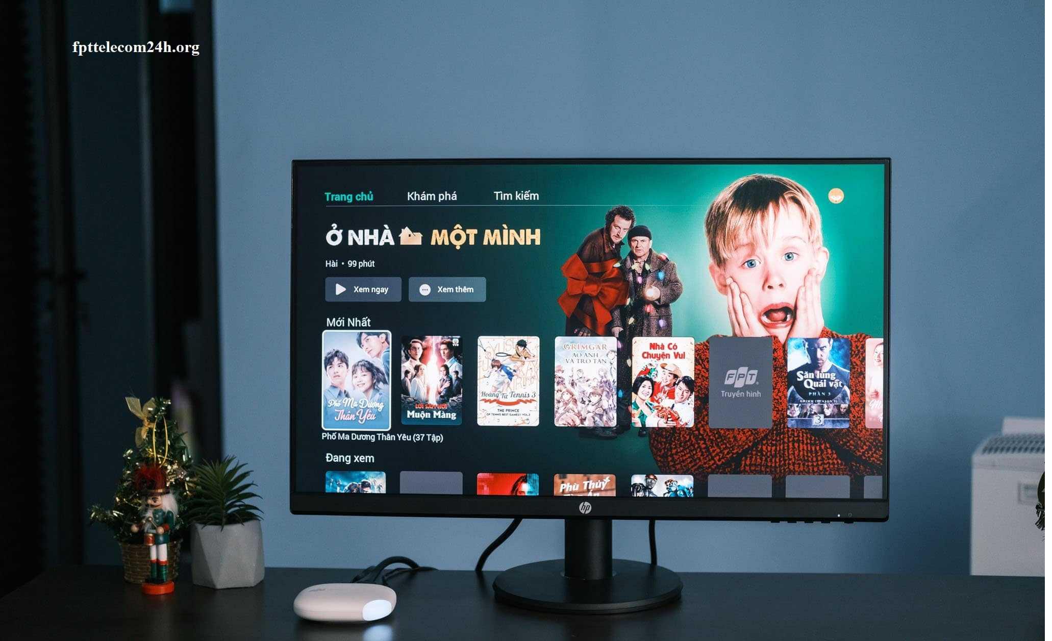 ứng dụng phim truyện trên truyền hình fpt 2020