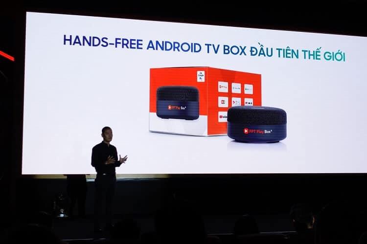 fpt play box s thiết bị hands - free android tv đầu tiên thế giới