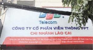 văn phòng mạng FPT Lào Cai